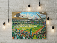 celtic park  canvas a2 size
